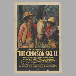 """The Crimson Skull"" movie poster"