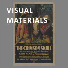 "Visual materials, ""The Crimson Skull"" movie poster"