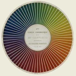 Printed color wheel