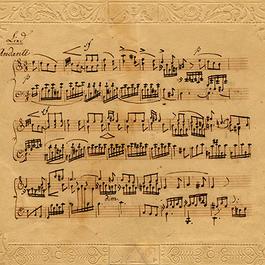 19th-century music manuscript