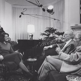 Photo of interview in progress