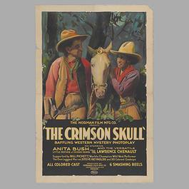"""""""The Crimson Skull"""" movie poster"""