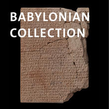 Babylonian Collection, Babylonian clay tablet