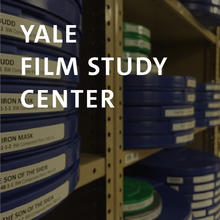 Yale Film Study Center, film reels stacked on shelves