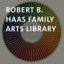 Robert B. Haas Family Arts Library, printed color wheel