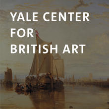 Yale Center for British Art, oil painting of a ship in harbor