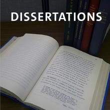 Dissertations, bound Yale dissertations.