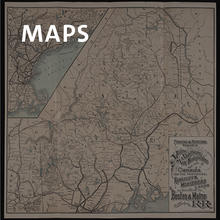 Maps, map of New Hampshire, Maine, and Canada